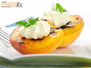 Grilled Peaches - Simple 90-calorie dessert