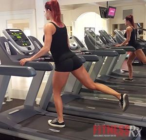 Lunge, Push, Run! - The Total Body Treadmill Workout