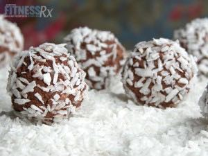Chocolate Coconut Ice Cream Bites - Healthy version of the former Bon Bon