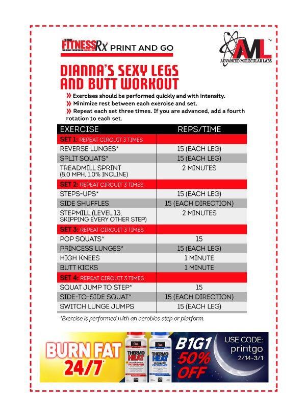 Sexy Summer Legs - Shape & Burn With Plyometrics