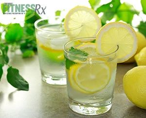 Lemon Water Benefits for Pregnancy - Plus, lemon burst banana muffins