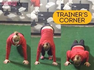 The Inchworm Push-up - Strengthen, burn & stretch with one exercise