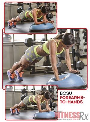 BOSU FOREARMS-TO-HANDS