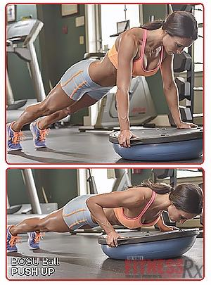 BOSU BALL PUSH-UP
