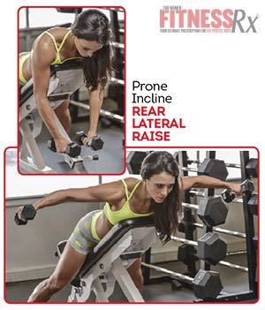 PRONE INCLINE REAR LATERAL RAISE