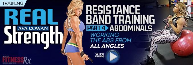 Resistance Band Training Part 4 – Abdominals