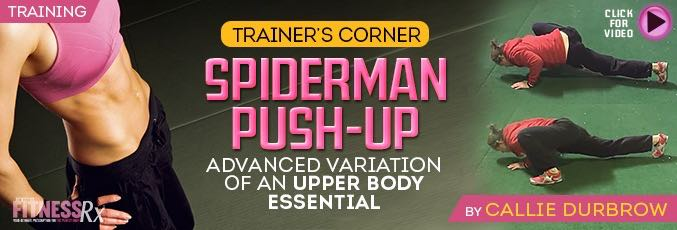 Spiderman Push-up