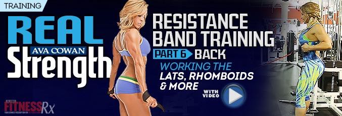 Resistance Band Training Part 6 – Back