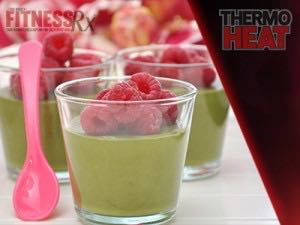 Berry Green Tea Frozen Yogurt - Cool off cravings & heat up fat burning!