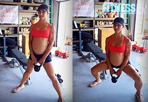 Lower Body Pregnancy Circuit - No Gym and Limited Equipment