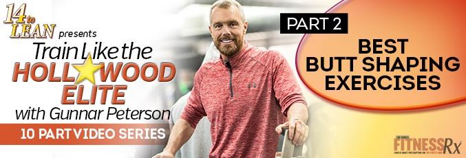Train Like The Hollywood Elite W/ Gunnar Peterson – Video 2
