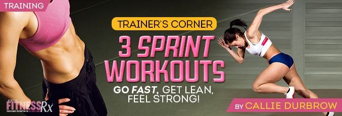 3 Sprint Workouts