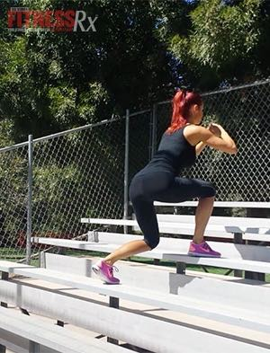 Bleacher Bum Blast - Take HIIT Outside