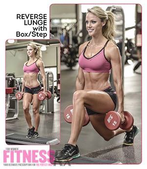 REVERSE LUNGE With Box/Step