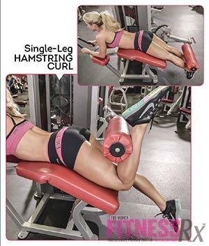 SINGLE-LEG HAMSTRING CURL