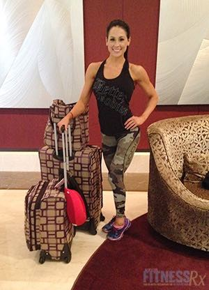 Staying on Track: My Post- and Pre-Show Plan - Travel Fit Tips, Cardio, Diet and More