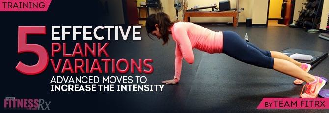 5 Effective Plank Variations