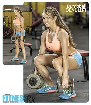 Approach The Bench For Great Legs & Glutes - Shape up using just a bench & dumbbells