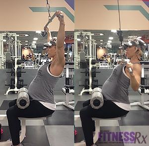 A Fit Pregnancy - Keeping it Real In Month 9 & Upper Body Workout