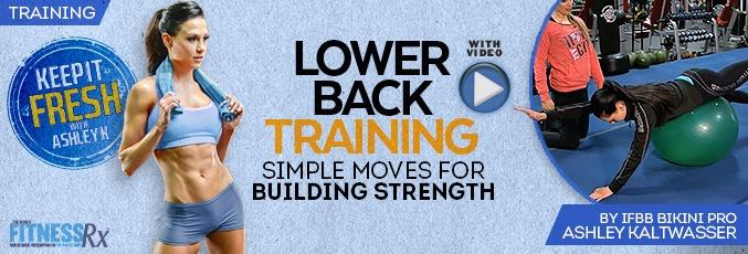 Lower Back Training