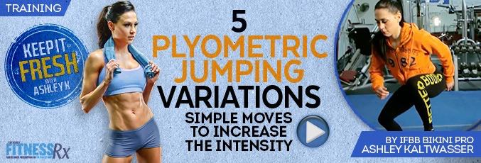5 Plyometric Jumping Variations