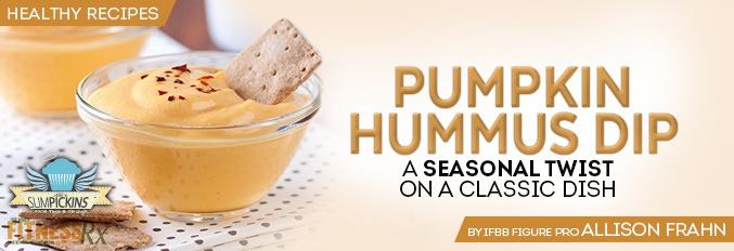Pumpkin Hummus Dip - A Seasonal Twist on a Classic Dish