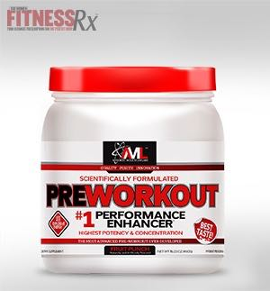 Product Review: AML's PREWORKOUT - Train harder longer with this scientific formulation