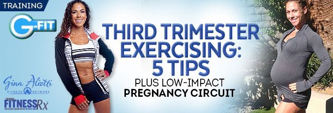 Third Trimester Exercising: 5 Tips