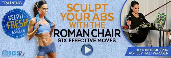 Sculpt Your Abs with the Roman Chair