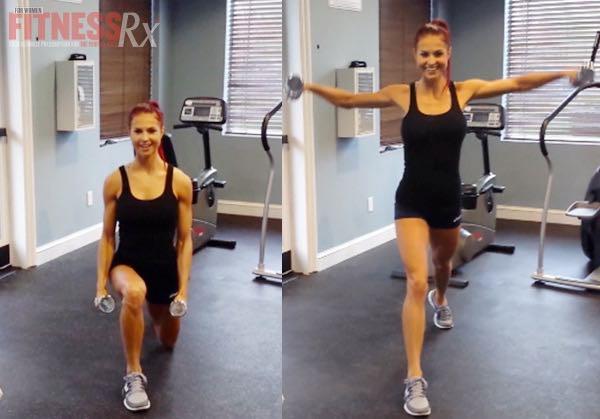 Pump It Up Cardio - Fat Burning Shoulders & Glutes Program