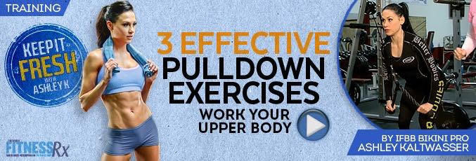 3 Effective Pulldown Exercises