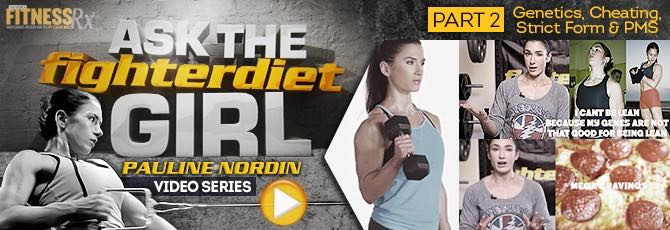 Ask The Fighter Diet Girl Pauline Nordin – Video 2