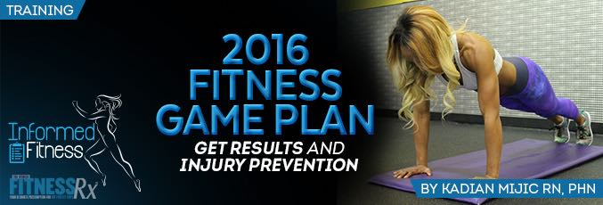 2016 Fitness Game Plan