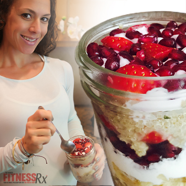 Quinoa Greek Parfait - On-the-go Breakfast Under 300 Calories