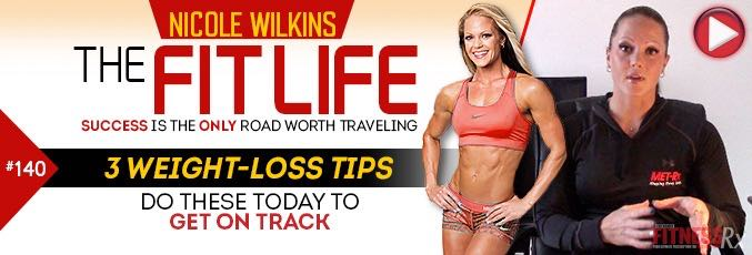 3 Weight-loss Tips