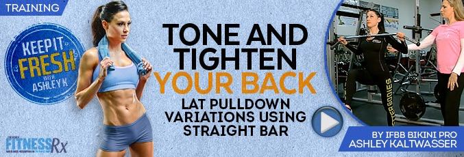 Tone and Tighten Your Back