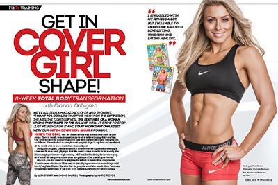 Get in Cover Girl Shape! 8-week Total Body Transformation with Dianna Dahlgren,