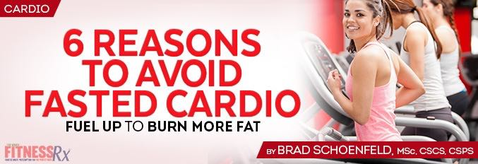 6 Reasons to Avoid Fasted Cardio
