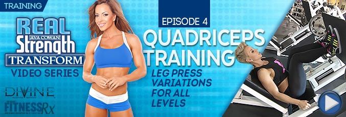Transform 4: Quadriceps Training