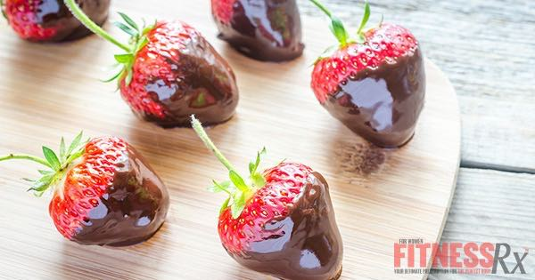 Chocolate Dipped Strawberries - Simple, Healthy Treat for Valentine's Day