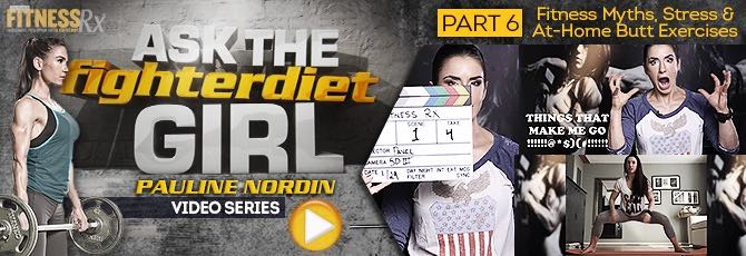 Ask The Fighter Diet Girl Pauline Nordin Video 6