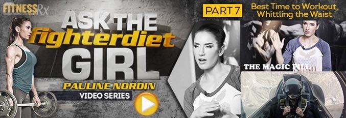 Ask The Fighter Diet Girl Pauline Nordin Video 7