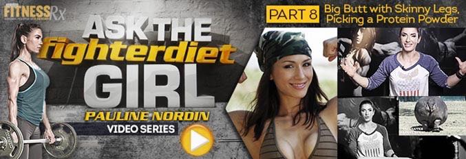 Ask The Fighter Diet Girl Pauline Nordin Video 8