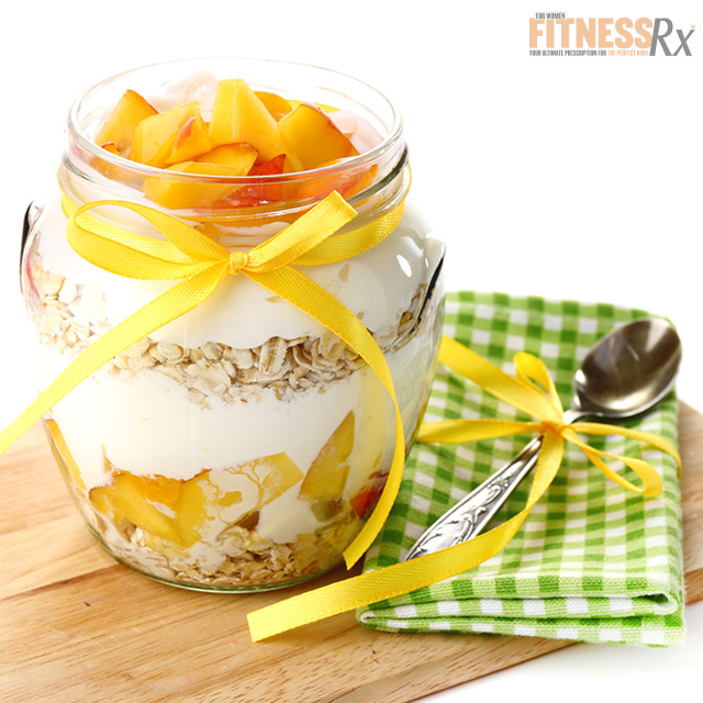 Peach Cobbler Overnight Oats - A Delicious Breakfast Treat