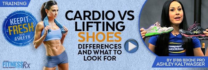 Cardio Versus Lifting Shoes
