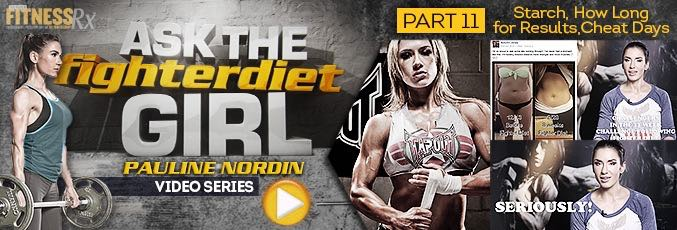 Ask The Fighter Diet Girl Pauline Nordin – Video 11