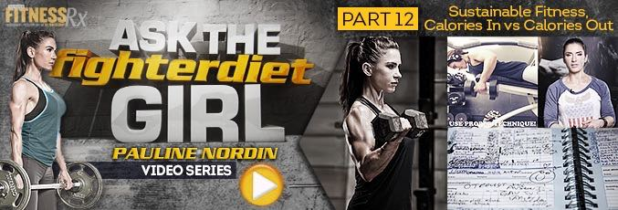 Ask The Fighter Diet Girl Pauline Nordin — Video 12