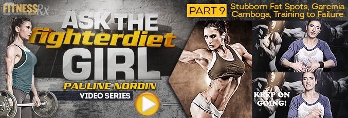 Ask The Fighter Diet Girl Pauline Nordin – Video 9