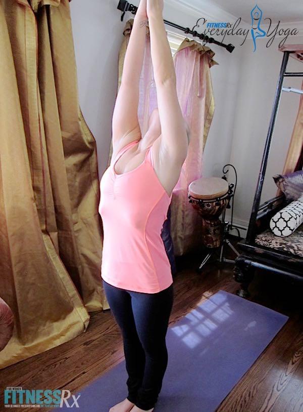 Sun Salutation A - Improve hamstring flexibility & upper body strength
