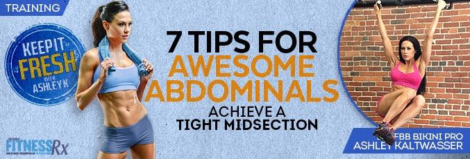 7 Tips for Awesome Abdominals